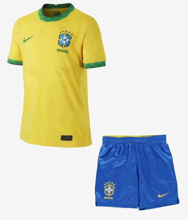 Детская форма Сборная Бразилии домашняя сезон 2020/21