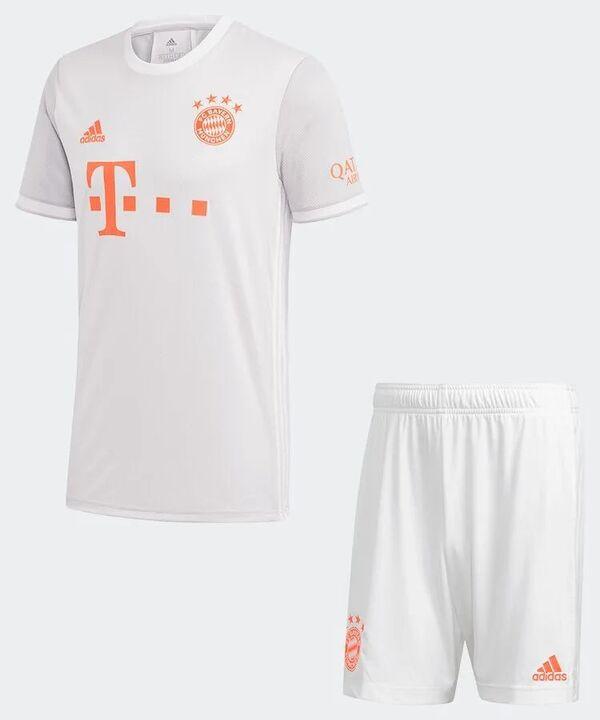 Бавария Мюнхен детская гостевая форма сезон 2020-2021